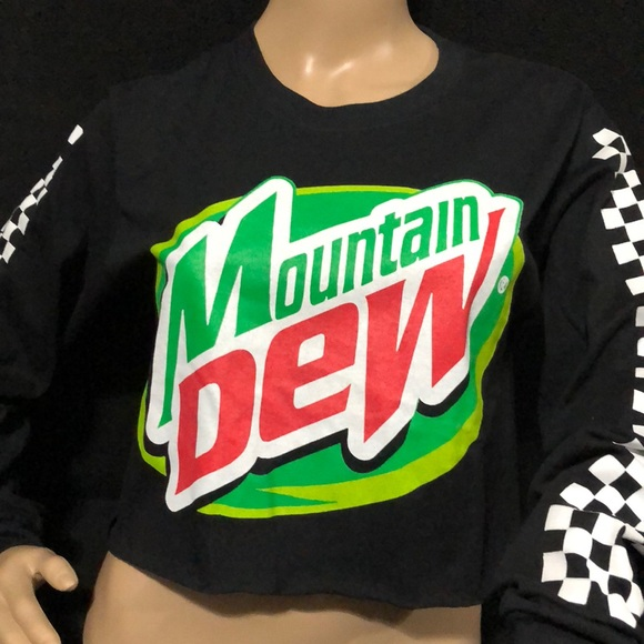 50ebef112 Mountain Dew Crop Top. M_5bd108072beb799f0c4b6f89. Other Tops you may like. Long  sleeve tee